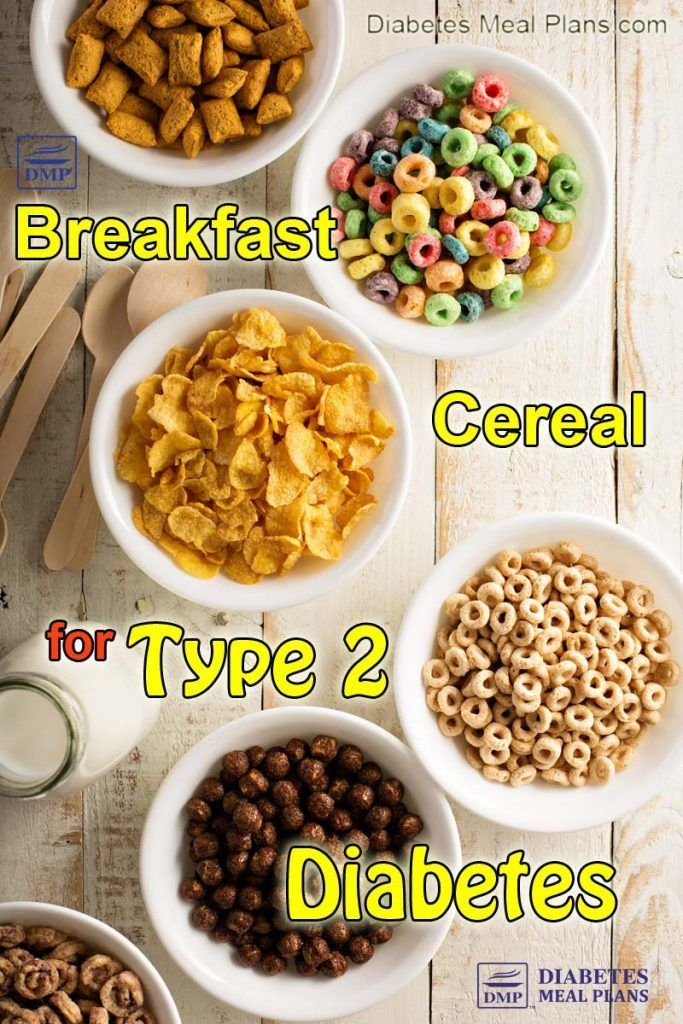 Breakfast Cereal For Diabetes Let S Crunch Some Numbers