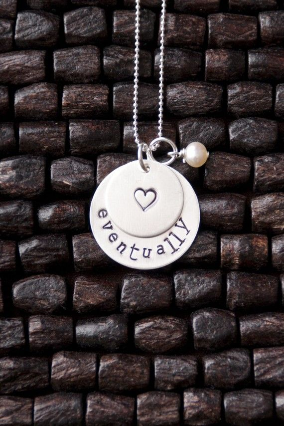 eventually infertility necklace @Sara Roberts-Searcy