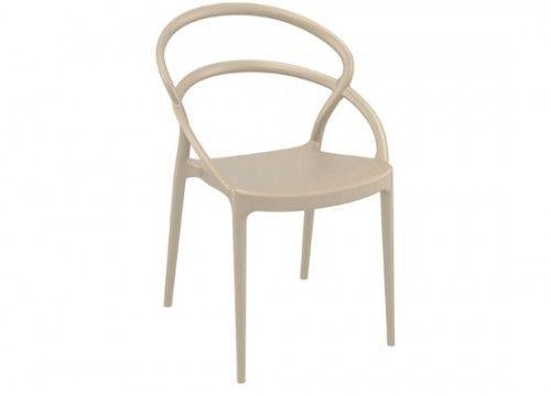Καρέκλα Pia dove grey