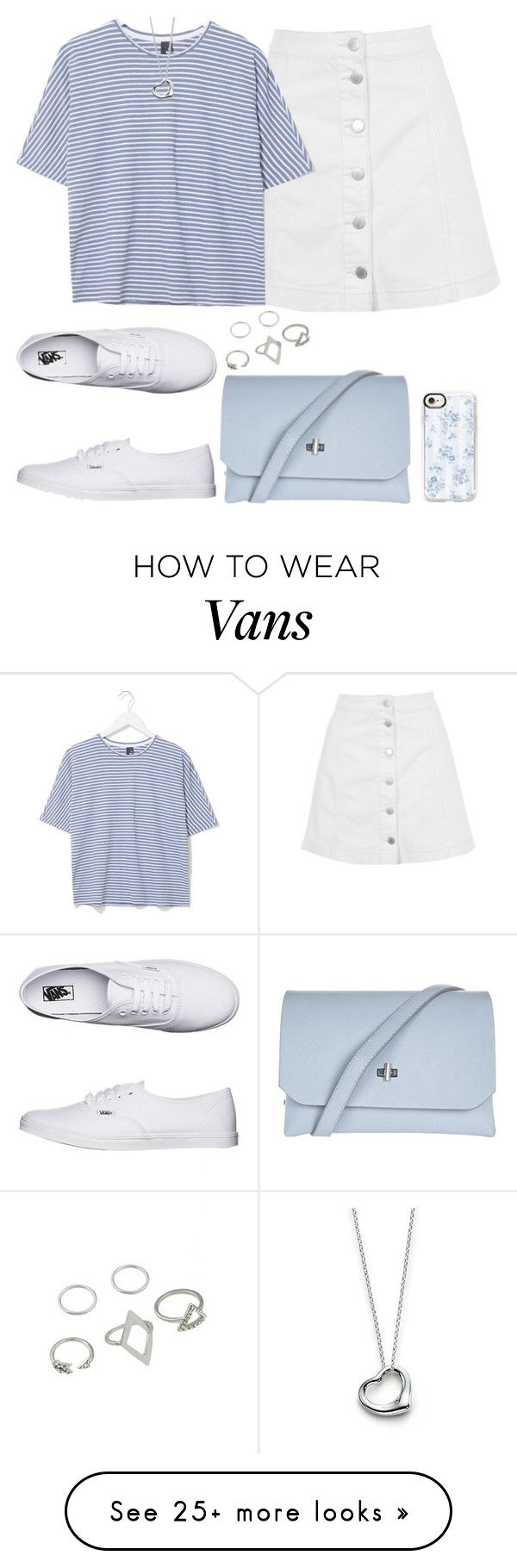 """""""Untitled #130"""" by findthefinerthings on Polyvore featuring Topshop, Boutique, Vans, Elsa Peretti and Casetify"""