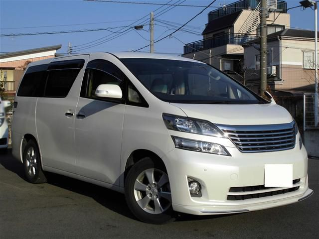 Toyota vellfire 2.4X 2011     ANH20W    FOB Price JPY:2500000