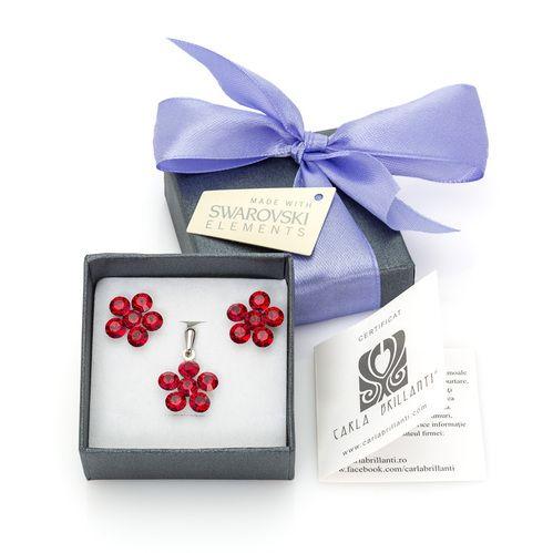 #cadouricraciun #cadouri #femei #swarovskielements   www.carlabrillanti.ro #crystal #jewelry #Crystal