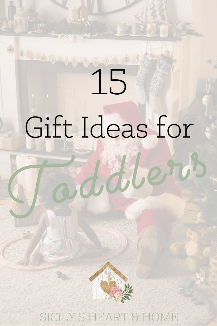 15 Gift Ideas For Toddlers Birthday Or Christmas Your Toddler Will Love Totschool Toddlergifts Toddleractivities
