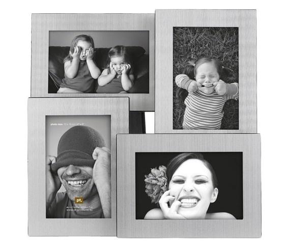 Fotolijst voor 4 foto's van 10x15cm.   € 24,95
