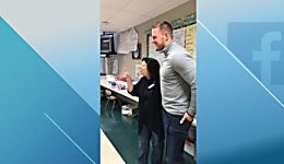 J.J. Watt surprises former teacher