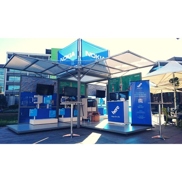 The Kube is a highly customisable #branding #installation great for creating memorable outdoor experiences. Here's how we designed it for an event in Sydney with Nokiaat Optus.