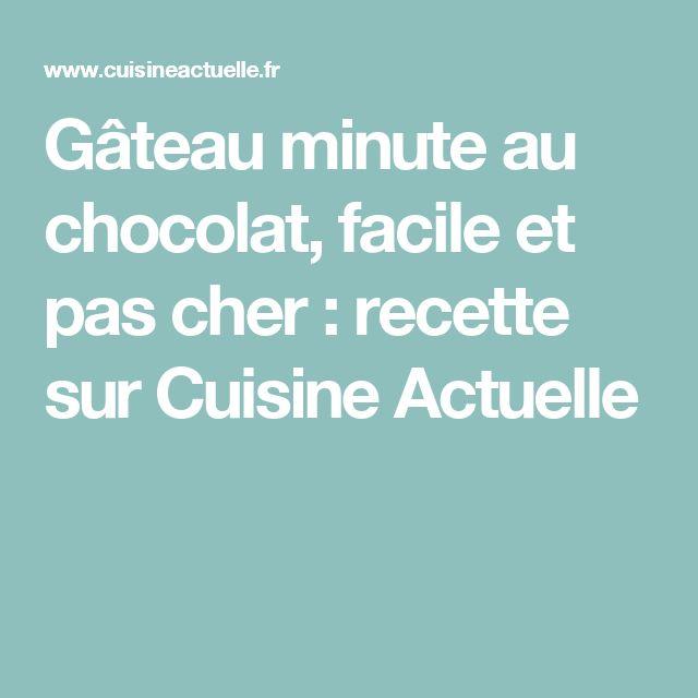 Gateau chocolat 7 minutes