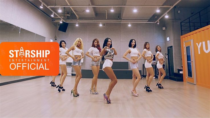 "SISTAR members ""Shake It"" in energetic dance practice video"