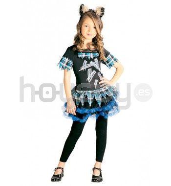 Original #disfraz de lobita para disfrutar de tu fiesta de #Halloween #Disfraces