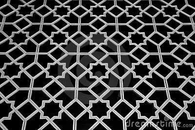 Traditional Islamic Pattern and Design by Dinictis, via Dreamstime