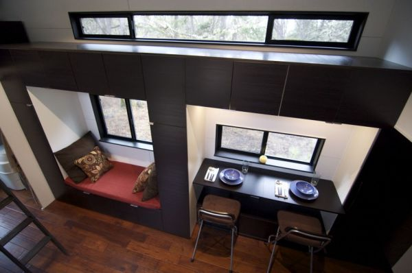 Tiny Home Designs: Tiny House On Wheels Featuring A Smart And Modern Design