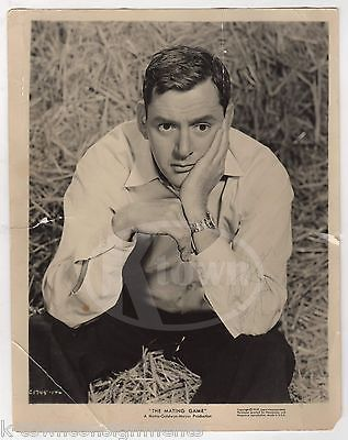 TONY RANDALL THE MATING GAME MOVIE ACTOR VINTAGE MGM MOVIE STILL PROMO PHOTO