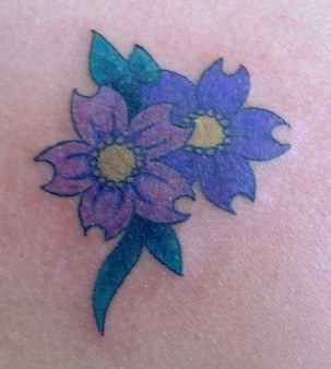 Com Img Src Http Www Tattoostime Images 49 Purple Flower Tattoo