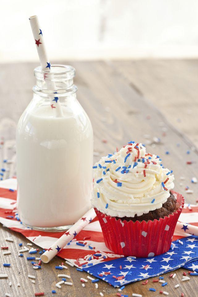 Patriotic Cupcakes - Duke's Mayonnaise