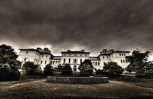 Ararat Lunatic Asylum-The largest abandoned lunatic asylum in Australia. Opened in 1867 and was reserved for many of the incurable lunatics in Victoria during the 1800's. An estimated 13,000 people died here in 140 years of operation. List of reportedly haunted locations in the world - Wikipedia, the free encyclopedia