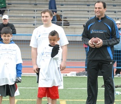 With his deep-seated passion for football and an even deeper passion for creating opportunities for youth in sport, David Sidoo found a philanthropic match made in heaven in the Down Set Hut Football Camp.  http://sidoofamilygiving.com/2011/06/2011-down-set-hut-football-camp-scores-with-local-youth/