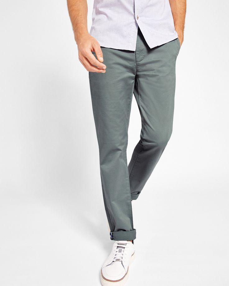 Ted Baker Slim fit chinos Olive