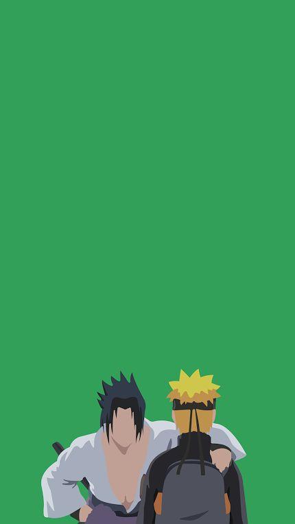 Anime: Naruto Shippuden Characters: Sasuke Uchiha and Naruto Uzumaki
