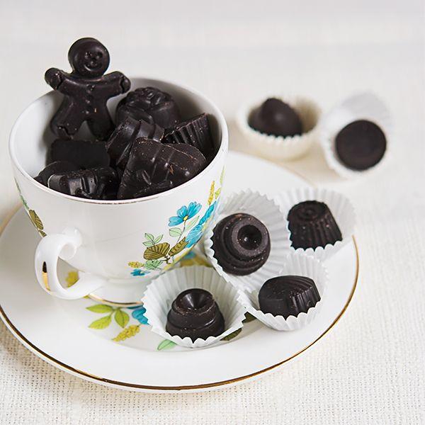 bomboane de ciocolata, de la RawCoco