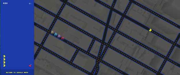 Just in time for April Fool's Day, Google has rolled out a cool new feature on Google Maps that allows you to play the classic arcade game Pac-Man using ANYWHERE IN THE WORLD as your maze.