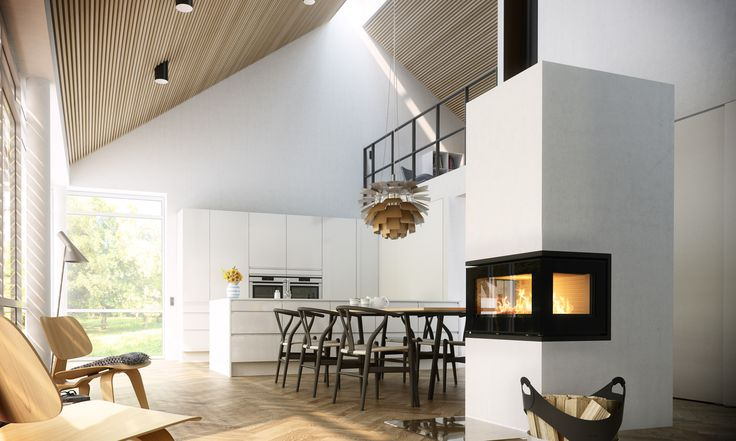 This #RAIS500 is #heaven for #designlovers. Have a look at all our #fireplaces here.