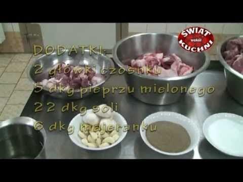Kiełbasa biała - domowa produkcja