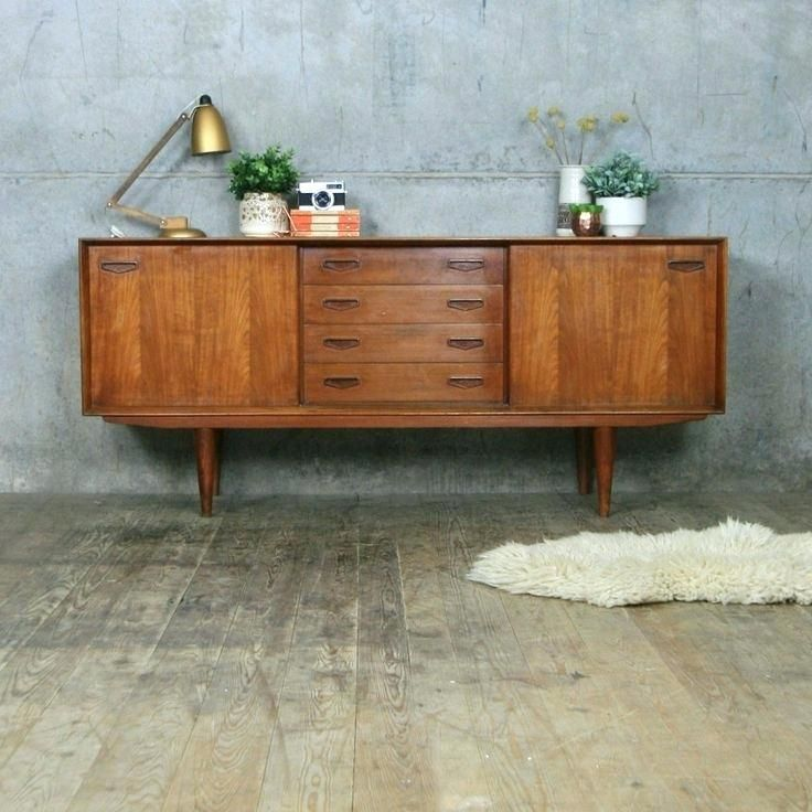 Retro Design Chest Of Drawers Sideboard Cabinet Sideboard Wood With Two Hinged Doors In Wohnung Cabine Retro Furniture Retro Cabinet Retro Sideboard