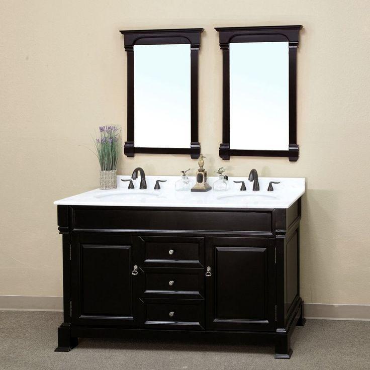 Inspirational Dark Wood Bathroom Cabinet