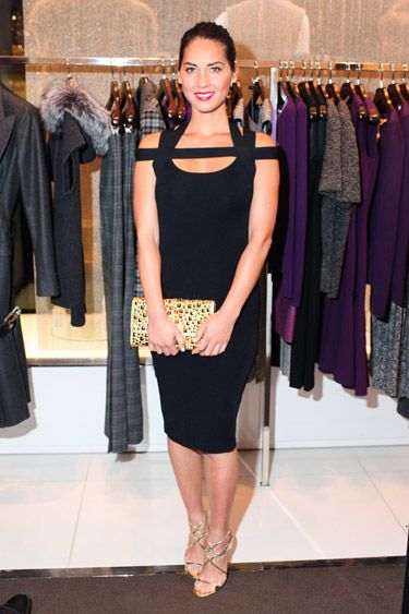 Olivia Munn in Michael Kors - The Premiere of Kors Collaborations: Claiborne Swanson Frank: Designer Dresses, Claiborne Swanson Frank, Black Dresses, Obsession Michael Kors, Lil Black, Olivia Munn, Kors Collaborative, Obsessed Michael Kors, First