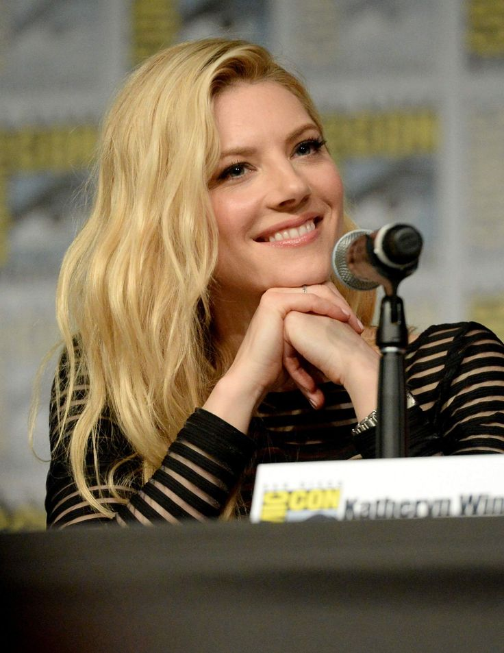 KATHERYN WINNICK at Vikings Panel at Comic-con 2016 in San Diego  actress KATHERYN WINNICK