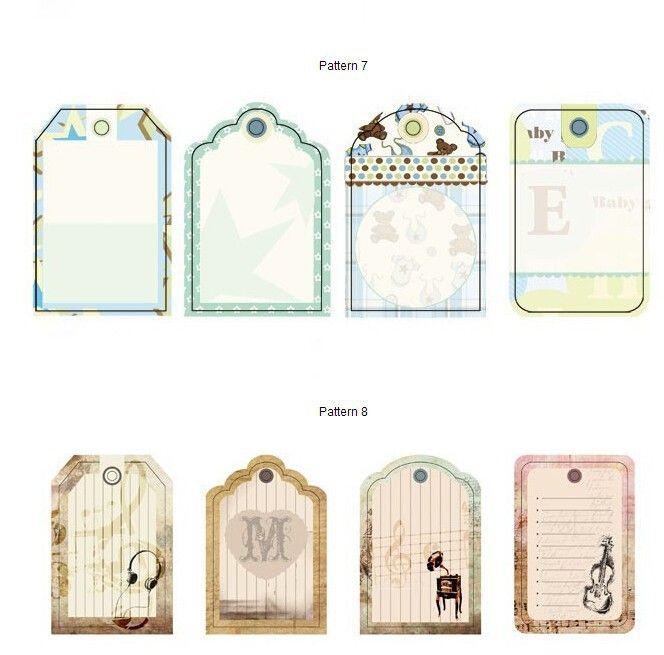 Yz10, DIY Zakka ручной работы красочные бумага картон теги для скрапбукинга / дисконтные карты украшения / закладки бумаги 8 конструкций, принадлежащий категории Хобби и относящийся к Дом и сад на сайте AliExpress.com   Alibaba Group