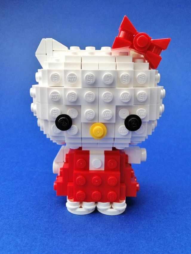 ... Hello kitty Lego on Pinterest  Sculpture, Lego halloween and Lego