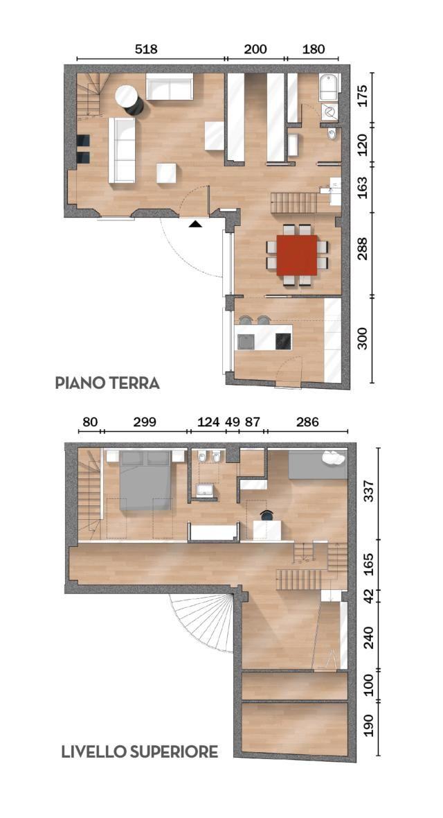 Casa Di 63 Mq Aumenta A 90 Mq Sfruttare L Altezza Col Sottotetto