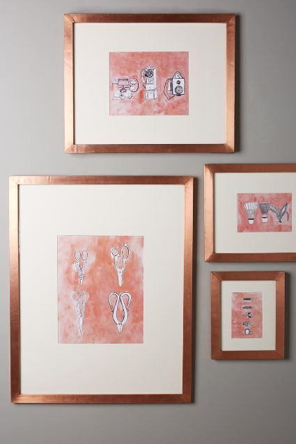Minimalist Gallery Frame - anthropologie.com