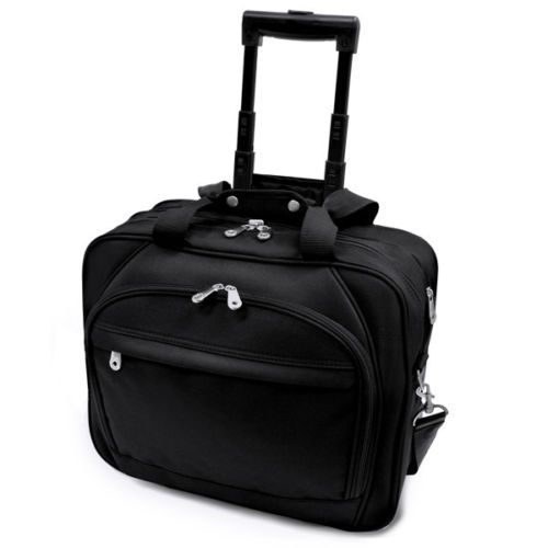 Embassy-Plus-Black-Rolling-Laptop-Computer-Bag-Business-Wheeled-Briefcase