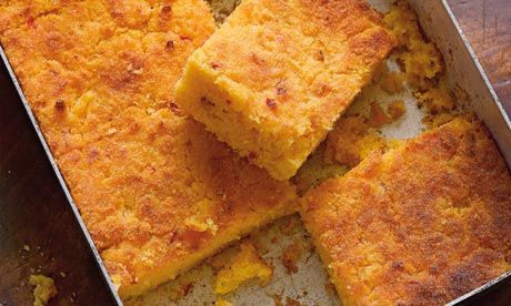 Hugh Fearnley-Whittingstall's chilli cheese cornbread recipe: 'lovely with soups and stews'. Photograph: Colin Campbell for the Guardian