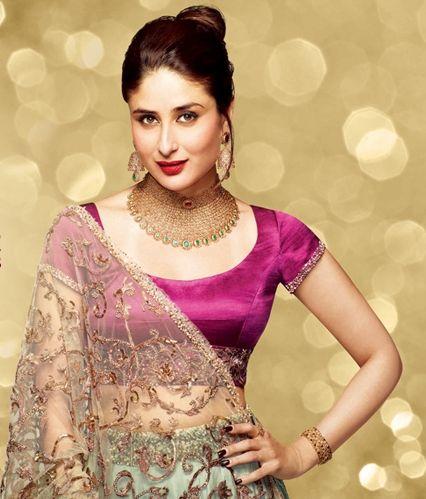 Kareena in Vikram Phadnis for Malabar Gold shoot..