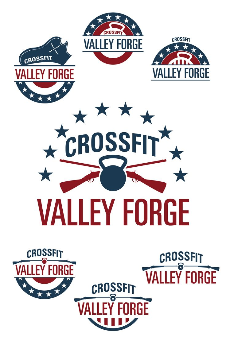 Logos I created for CrossFit Valley Forge.