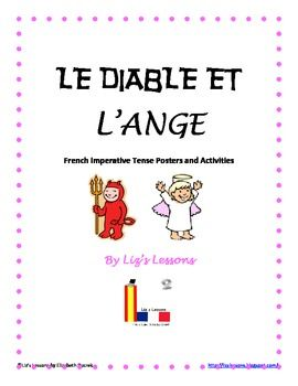 ($2.99) Looking for a fun way to practice the imperative tense in your French class? Your students will love making these Devil Vs. Angel posters!