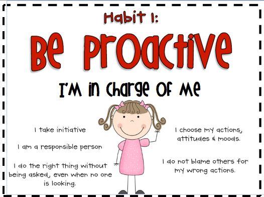 Best 20+ Be Proactive ideas on Pinterest | 7 habits activities ...