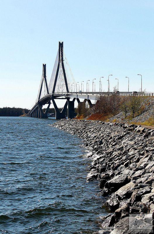 Raippaluodon silta, Merenkurkun rannikko - Mustasaari © Marjut Hakkola, 2014