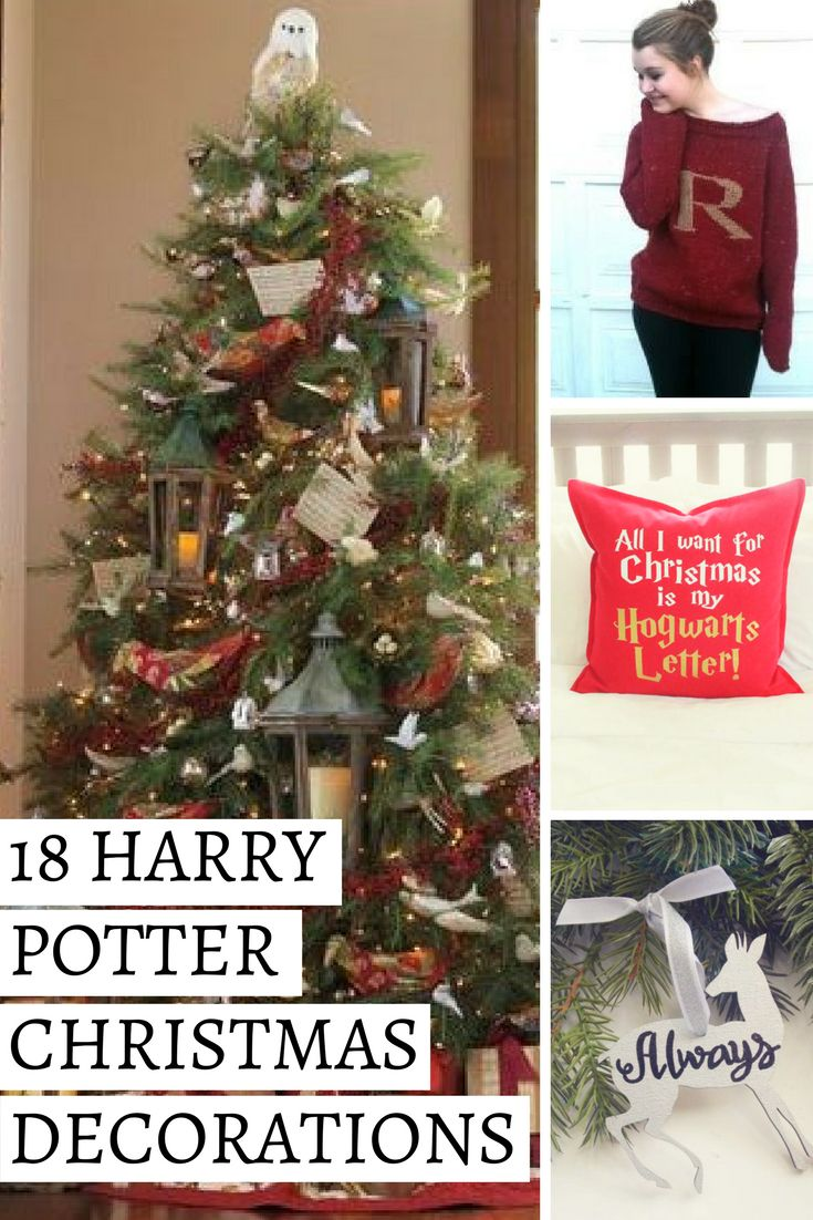18 Enchanting Christmas Decorations for u0027Harry Potteru0027