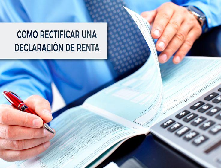 ¿Puede un contribuyente rectificar el borrador de una declaración de renta sin presentarla? #contaduria #contabilidad  #accounting