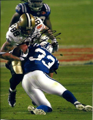 Jeremy Shockey New Orleans Saints Autographs