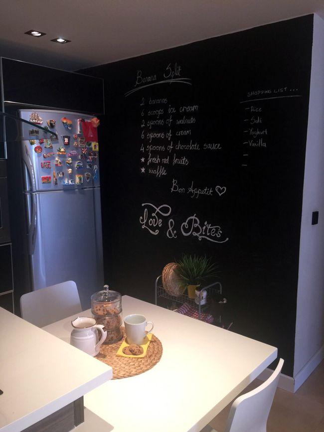 Ev Dekorasyon Ürünleri: Kara tahta boyası ile ev dekorasyonunuzu yada mutfak dekorasyonunuzu hızlıca canlandırabilirsiniz. Bu ev dekorasyon projesini hayata geçirmek için tüm bilgiler My Style My House Blog'da sizi bekliyor.
