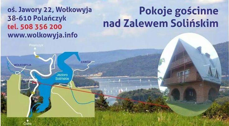 Noclegi nad Jeziorem Solińskim, os. Jawory 22