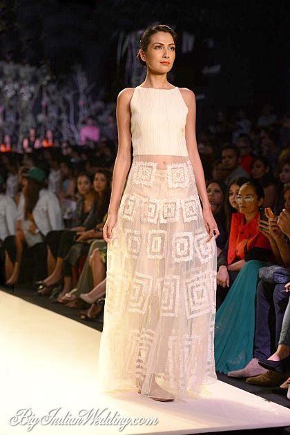 Manish Malhotra Lakme Fashion Week 2014 | Lehengas & Sarees | Bigindianwedding