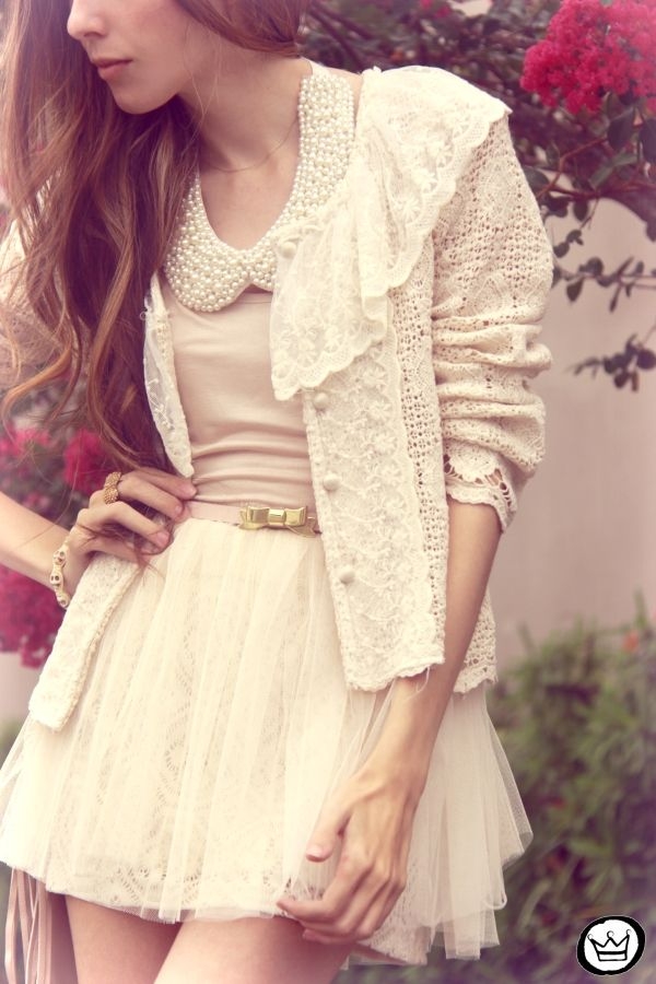 romantic in soft neutrals ♥