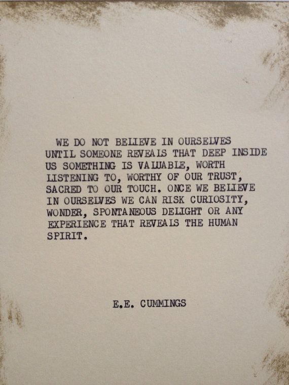 THE VOW Typewriter quote on 5x7 cardstock by WritersWire on Etsy, $6.00
