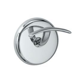 "You will be proud to hang your towels on the Vogue Robe Hook.  With its sleek lines, solid construction and simple style this hook is a great functional accent.   Product: Wall Hook  Collection: Vogue Collection  Finish: Chrome  Construction Material: Solid forged brassOverall Dimensions: 2.7"" H x 2.7"" W x 2.18"" D  Expected Arrival Date: Between 04/06/2011 and 04/11/2011Return Policy: Non returnable"